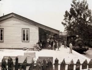 antiga estacion de cornes 1909